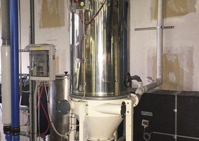 Impianto aspira liquidi